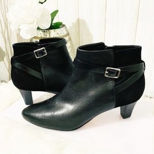 Cole Haan Black Ankle Booties Size 8M